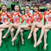 リオ五輪女子体操日本代表のレオタード