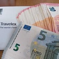 ユーロに換金