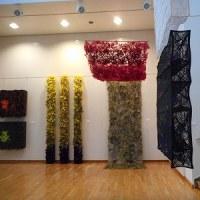 高松恵子 ファイバーアート展 @常陽史料館