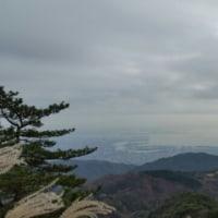 11月末 今日の六甲山