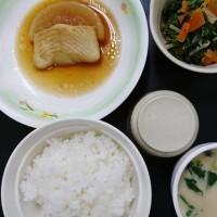 栄養科特製、本日の夕食(腎臓・心臓食Ⅲ)
