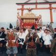 69.日吉大社の麓五社拝殿の格天井(ごうてんじょう)(月刊「祭」2017.7)