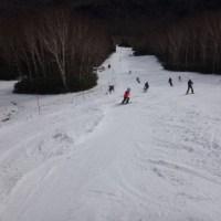12月4日(日),焼額山スキー場オープンの週末の状況速報モード…結構混みました