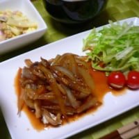 焼肉のタレ『ジャン』で豆腐ステーキ