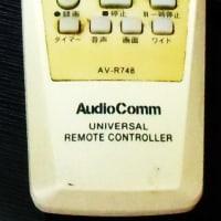 リモコン AV-R748
