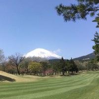 富士山☆ゴルフ場より