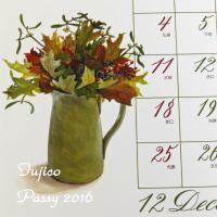 Fujicoさんのカレンダー@2016 December