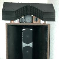 RCA製Wウーハーフロントロード箱システム