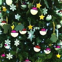 病院のクリスマスツリー