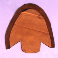 初めて革靴の自作  裁断と部品縫製
