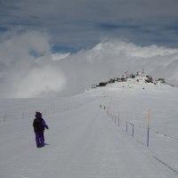 ブレイユ=チェルヴィニアはスキーヤーでいっぱい