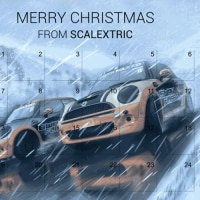 スロットカー・THE SCALEXTRIC ADVENT CALENDAR