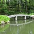 縮景園 園内桁橋 (広島市)
