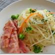 冷製パスタと野菜サラダ♪