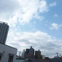 今朝(4月25日)の東京のお天気:晴れ?、作品展、(4月の作品:永遠の少女)