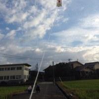 凧、大空に