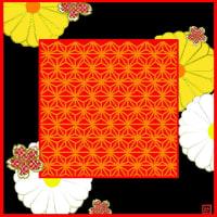 風呂敷(391)菊桜