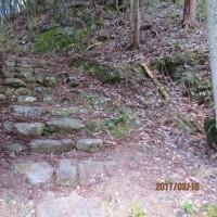 2 岩国弥山(435m:山口県岩国市)登山 古い参詣のお山