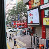 香港 2階建て路面電車乗車 3