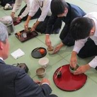 茶道体験&和菓子作り