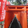 日枝神社の赤鳥居