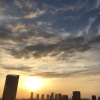 10/21の朝の空