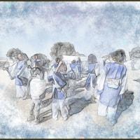 御津の梅まつり 2・11日 御津の踊り子
