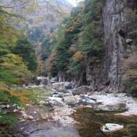 錦秋の渓谷4