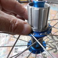 ロードバイク スプロケットの交換方法 その2