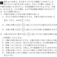 東京大学・物理 1