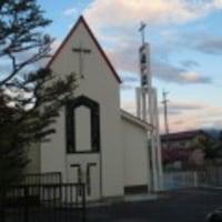 聖堂の塗装工事が終わりました