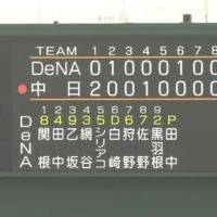 練習試合 中日ドラゴンズ vs. 横浜DeNAベイスターズ