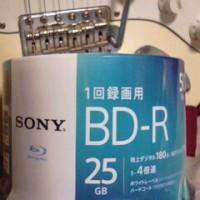 ソニーのBD-R25GB、50枚入りでダビングしてましたらxP