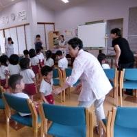 ボランティア活動(園児のみなさんと・・・)