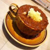 昼ご飯は、さっぽろラムカレー(ナガミヤ 南一条店)