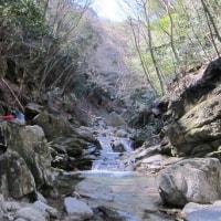 長石谷から鎌が岳