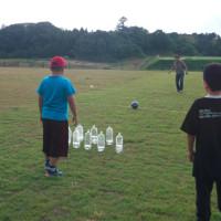 2017年6月3日(土)手作りサッカーボウリング!(平沢団地子ども広場)