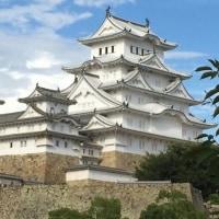姫路城と明石海峡大橋