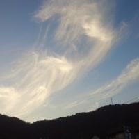 雲の織りなす光景