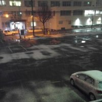 何でまた雪降ってるの?!ヾ(*`Д´*)ノ