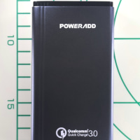 Quick Charge 3.0対応 Poweradd モバイルバッリー 10050mAh 2 USB ポート