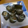夕食~さざえが届きました(#^.^#)