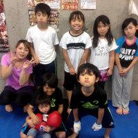 2017.6.21 少年部キッククラス、今日の練習