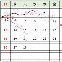 カレンダーの事