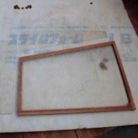 DIY(テラスを部屋らしく窓を付ける その13)