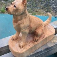 紀州犬風な作品 注文品