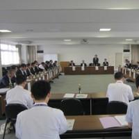 県土整備部長との意見交換会(前橋支部)