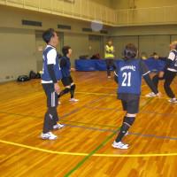 ソフトバレーボール交流会で活躍しました。