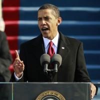 大統領就任式でしたが、、。