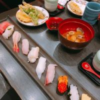 金沢まいもん寿司で夜ごはん